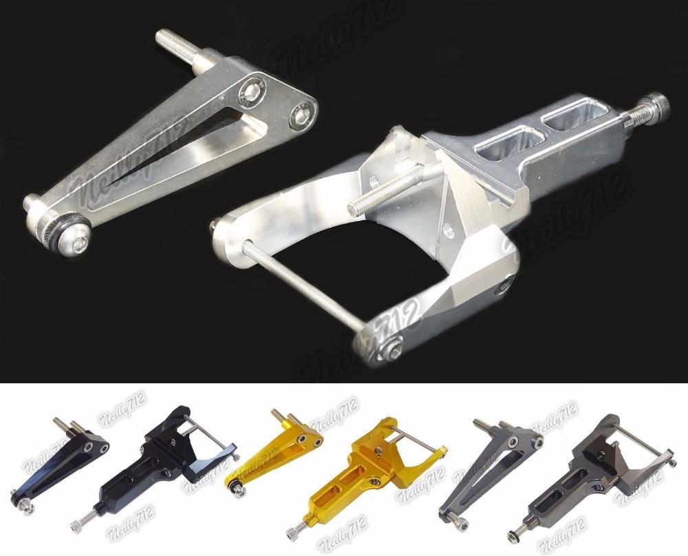 CNC Aluminium Steering Stabilizer Damper Mounting Bracket For HONDA CB1300 Super Bolder 2005-2016 2006 2007 2008 2009 2010 2011 cnc aluminium steering stabilizer damper mounting bracket for suzuki gsxr1000 gsxr 1000 k7 2007 2008