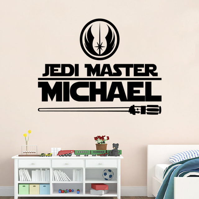 2016 hot star wars wall sticker wall decal diy customize home decoration custom wall mural removable