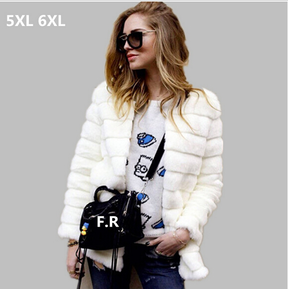 Aliexpress.com : Buy 2017 6XL autumn winter coat women Faux fur ...