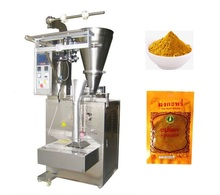 Screw measuring small sachets cocoa powder packing machine