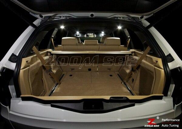 23 шт. светодиодный фонарь для номерного знака+ внутренний светильник, полный комплект для BMW X5 E70 M xDrive 30i xDrive30i M xDrive35d 35i 48i 50i(2007-2013