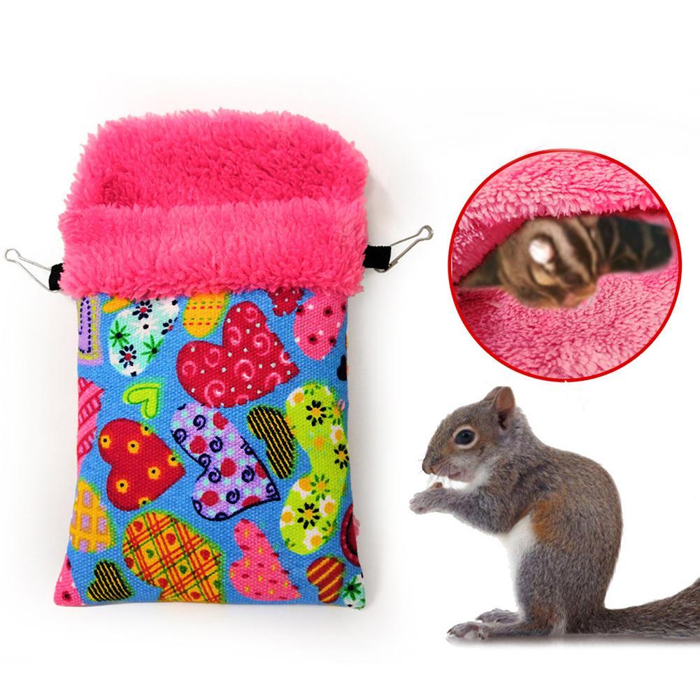 Hamster Squirrel Bird Nest Hanging Hammock Small Animal Bed House Pet Supplies