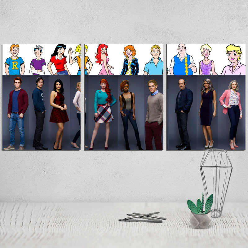 canvas painting riverdale painting canvas poster movie poster art print photo print decorative pictures modular pictures giclee