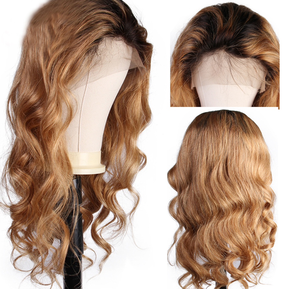 Eversilky Glueless Ombre Blonde Wig Lace Front Human Hair Wigs For Women Brazilian Loose Wave Remy Hair 613 Lace Front Wig
