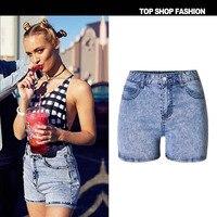 LIENZY Summer Sexy Denim Short For Women With High Waist Trousers Female Denim Short Feminino Jeans