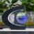 Novo C Forma led night light com Levitação Magnética Flutuante globo Mapa Do Mundo 3 Cores para Casa e Decoração Do Escritório, caçoa o Presente