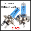 2 Pcs H4 Halogen Xenon Light Xenon H4100W 6000K 12V Super White H4 Halogen