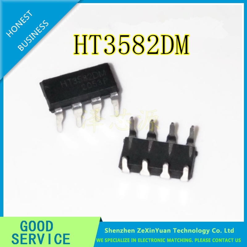10PCS/LOT HT3582DM HT3582D HT3582 DIP-8 Charger Power Driver IC NEW