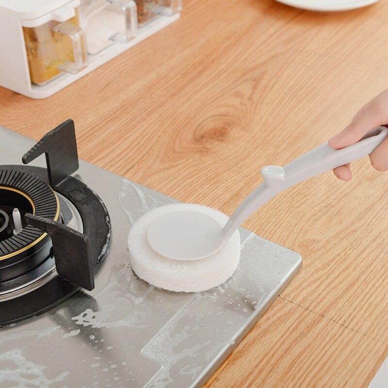 Hand Held Sponge Cleaning Brush Bath Brush Ceramic Tile