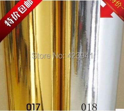 Wohnkultur Gold spiegel tapete gold silber reflektierende aufkleber ...