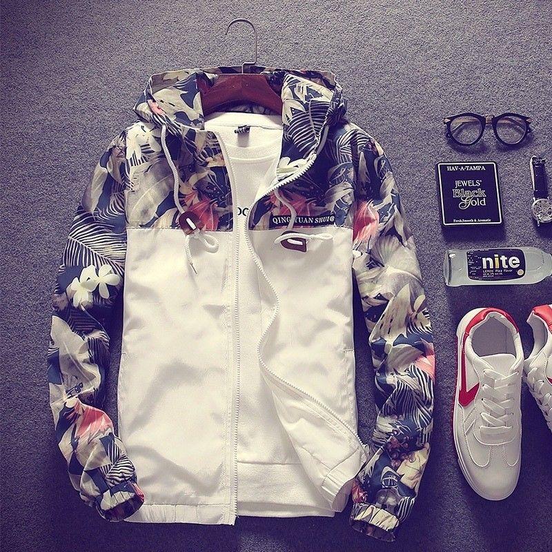 New Arrival Mens Fashion Slim Jackets Autumn Winter Casual Lightweight Hooded Jacket Coat Lined Zip Street Wear For Men