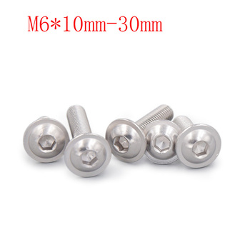 300pcs / lot,Countersunk head tapping screws M6* 10mm-30mm, 304 stainless steel screws, free delivery