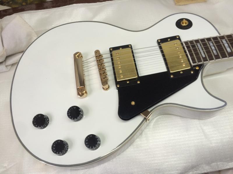 2016new electric guitar/G lp custom guitar/black/white/sunburst/more colorguitar in china electric guitar 2017 new lp custom oem brand left hand electric guitar guitar in china