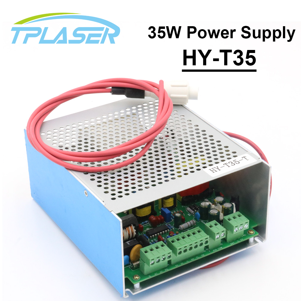 купить 30W-40W CO2 Laser Power Supply HY-T35 for CO2 Laser Engraving Cutting Machine