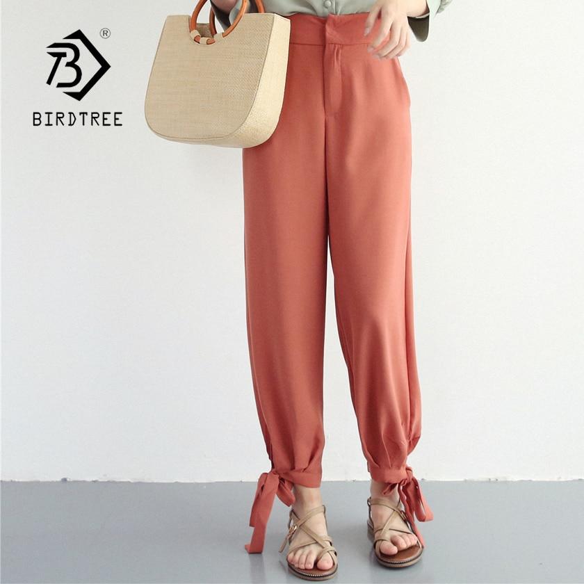 Women's Clothing Bottoms Womens Summer Chiffon High Waist Solid Wide Leg Casual Pants 2018 New Arrival Fashion Elegant Long Pants Hots Sales B84924f