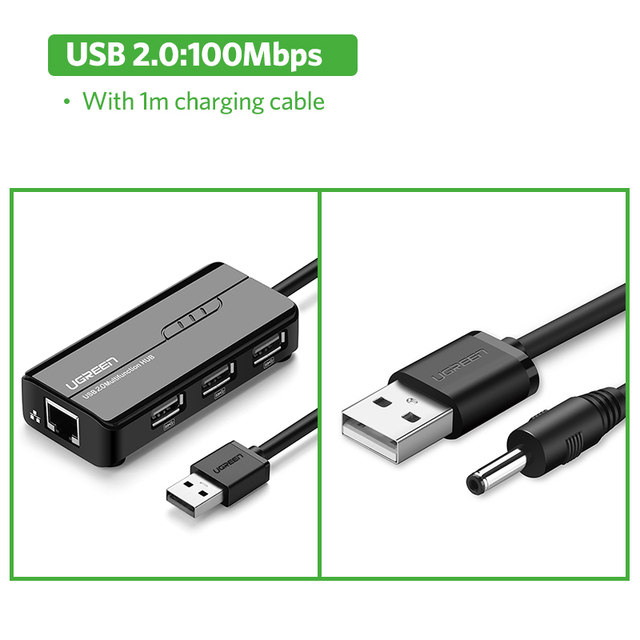 USB2.0 With DC Cable