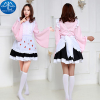 MANLUYUNXIAO Vente Chaude Femmes Costume Lolita Robe Demoiselle Cosplay Costume Carnaval Party Halloween Costumes Pour Femmes