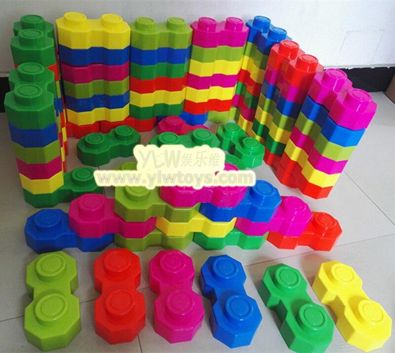 Octogone grands et respectueux de lenvironnement grands blocs de construction en plastiqueOctogone grands et respectueux de lenvironnement grands blocs de construction en plastique