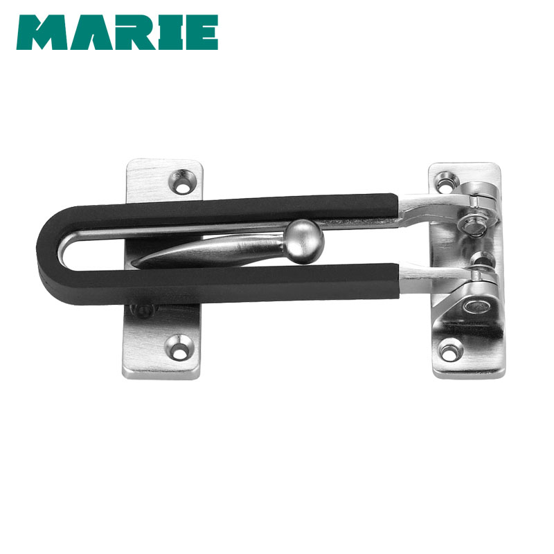 Strong-Willed Gold Zinc Alloy Hasp Latch Lock Door Chain Anti-theft Clasp Window Cabinet Locks Tools For Home Hotel Security Hardware Durable Modeling Home Improvement