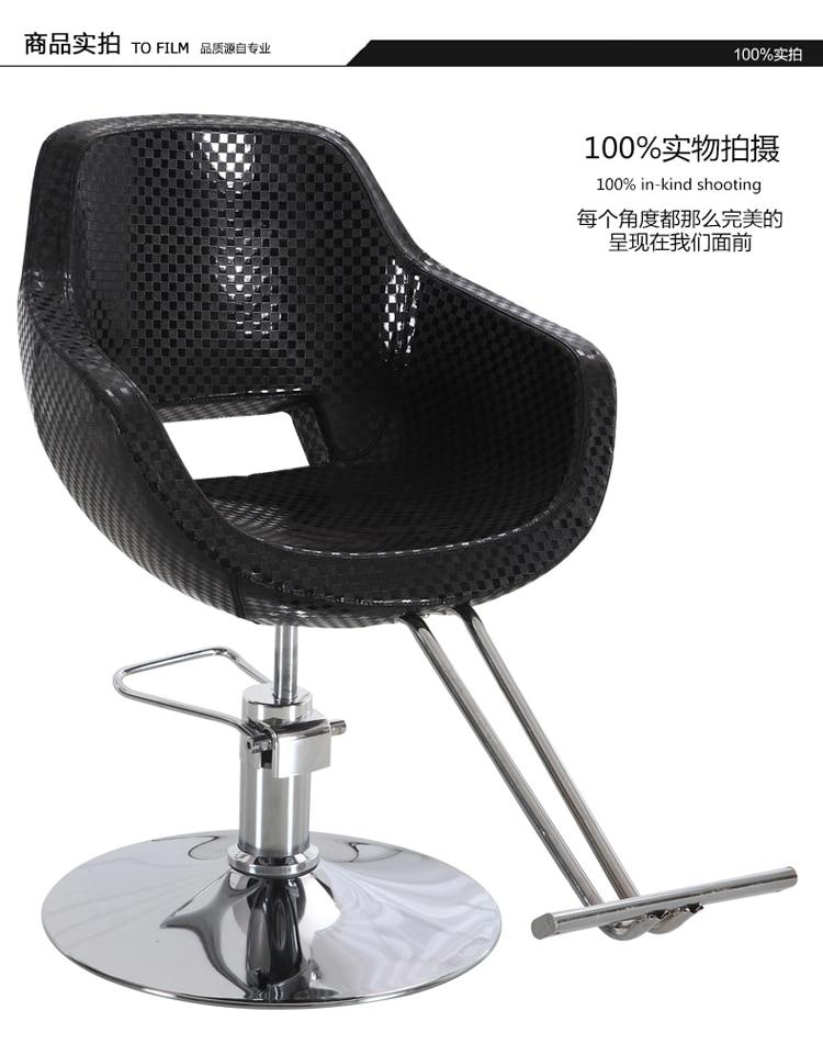 Neue Europäische Retro Herren Friseurstuhl Friseurladen Aufzug Kann Tropfen öl Kopf Salon Haar Stuhl Salon Möbel