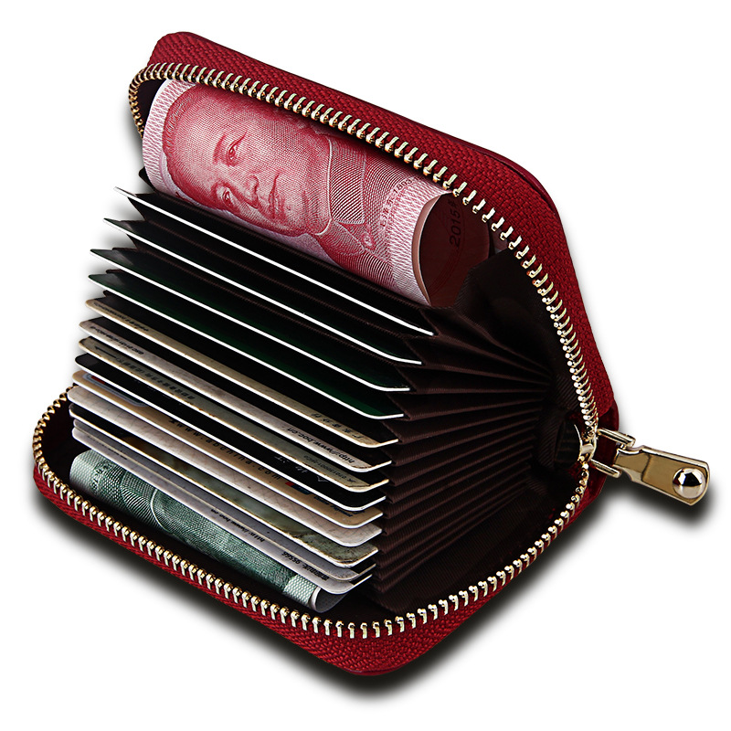 Men Women Genuine Leather Mini Wallets Small Clutch Wallet Short Purses Red Black Zipper Coin Bag Fashion Credit Card Holders new 2017 ladies genuine leather brand small wallets for credit cards women short wallet purses zipper roomy coin multi function