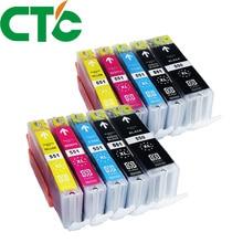 10 Pack PGI 550 CLI551XL Ink Cartridge Compatible for Canon Pixma IP7250 MG5450 MX925 MG5550 MG6450 MG5650 MG6650 IX6850 MX725