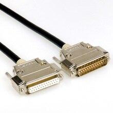 DB25 25-контактный кабель-удлинитель, для мальчиков и девочек, настраиваемая длина, Пластик или металлический чехол, 24/26/28AWG