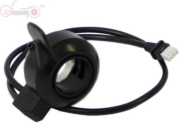 Tongsheng 36V 48V Thumb Throttle for TSDZ2 TSDZ3 Torque Sensor Mid-Drive Motor Waterproof Connector E <font><b>Bike</b></font> <font><b>Electric</b></font> Bicycle
