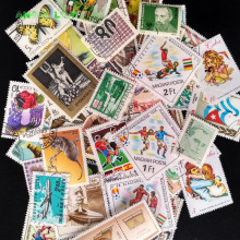 цена на 100 Pcs/lot Postage Stamps Good Condition Used With Post Mark From All The World Stamp Collecting Estampillas De Correo