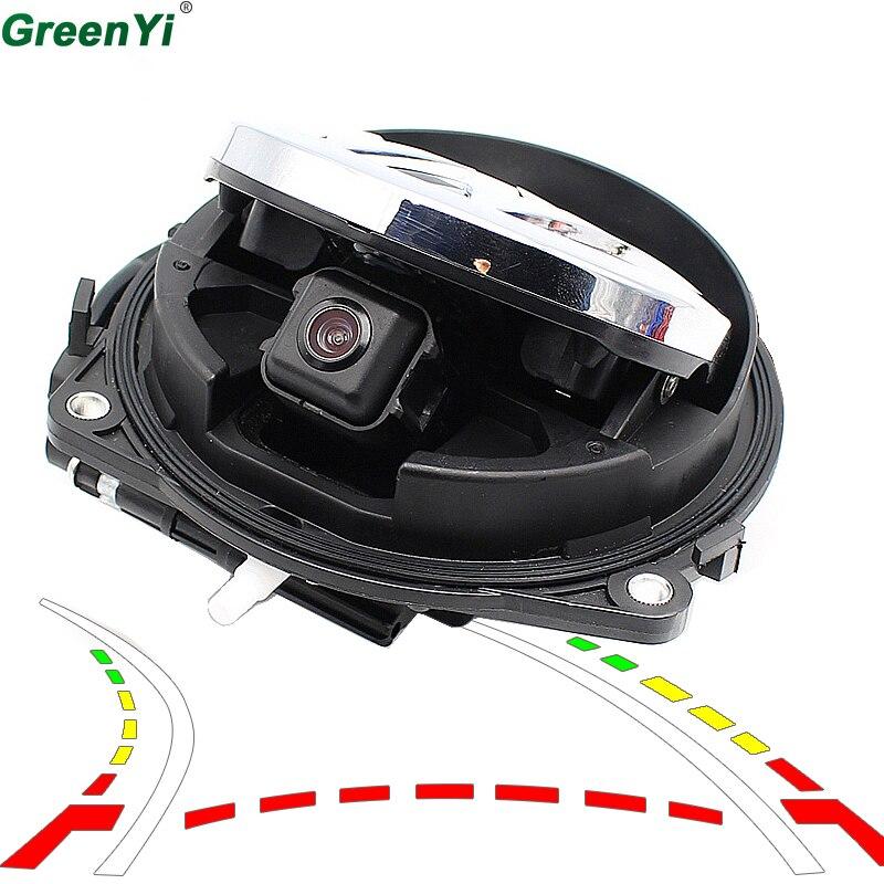 Intelligent Dynamic Trajectory Tracks Parking Line Smart Flip Trunk Handle Rear View Vehicle Camera For VW