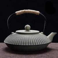鉄鍋鋳鉄特別価格日本非被覆テープフィルターネット鉄釜煮沸水茶鋳鉄ティーポット茶セット