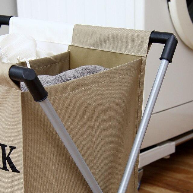 Online Shop HOT Laundry Basket Foldable Thick Oxford Aluminum Frame ...