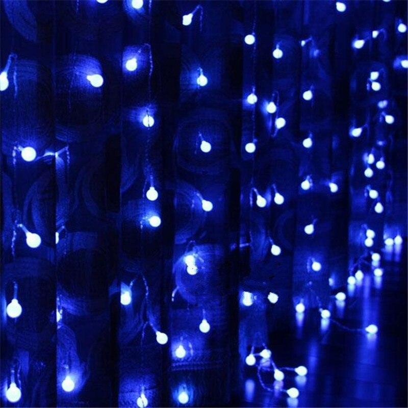 Fairy 3x3m LED Cherry Ball String Light New Year Valentine