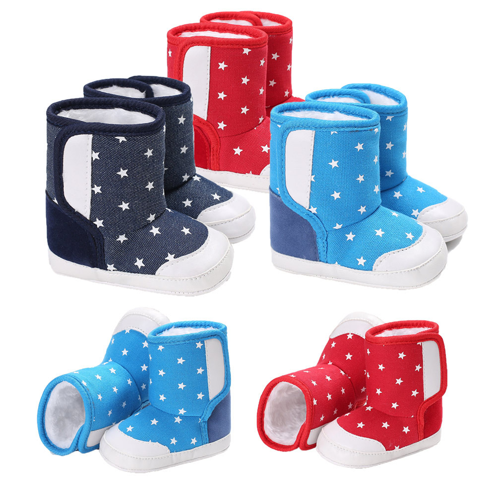 7b4a745246c Best buy shoes for girls Booties Sneakers children footwear for newborns  Soft Sole Snow Boots home slippers baby boots for girls online cheap