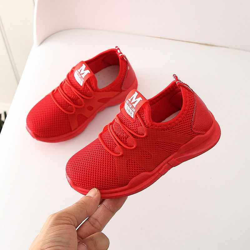 Zapatos para niños, zapatos para bebés y niñas, zapatos para niños, malla, deporte, correr, niñas, zapatillas, zapatos casuales, Tenis Infantil
