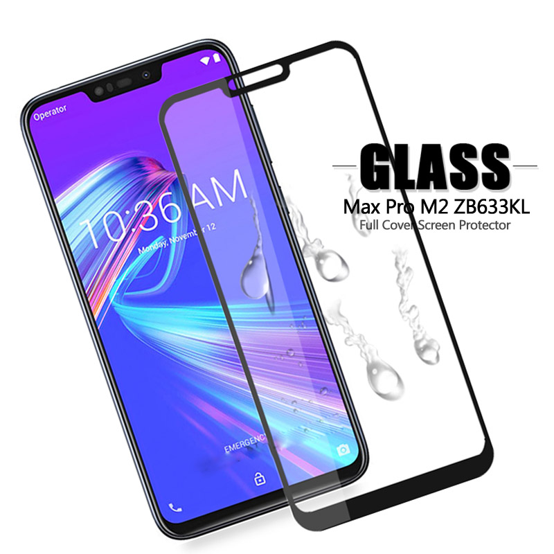 Cover For Zenfone Max M2 ZB633KL ASUS_X01BD/BDA Tempered Glass For ASUS Zenfone Max M2 ZB633KL ZB 633KL ZB633 KL Protective Film
