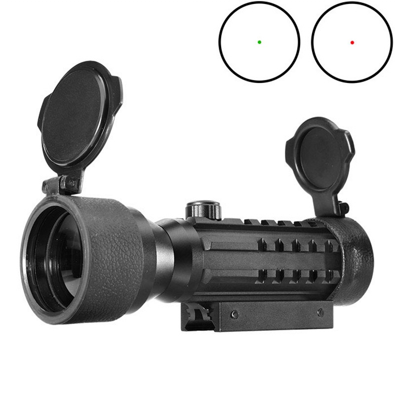 AIM 2X42 Red Green Dot Sight Tactical Optical Scope Airsoft Riflescope Hunting Rifle Sco ...