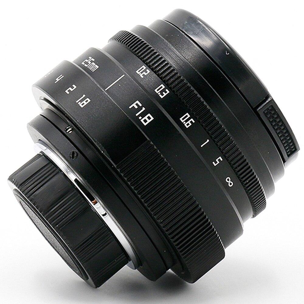 Nuevo llega fujian 25mm f1.8 C monte CCTV Lente de la cámara II para Sony NEX e-mount cámara libre gratis
