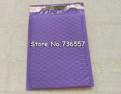 [50 stücke] Lila Rosa Blau Self Sealing padded Mailing Tasche 6,5X9 zoll/165X229 mm nutzfläche Poly blase Mailer umschläge