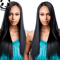 Straight Hair Glueless Lace Front Human Hair Wigs 250% Density Lace Front Wigs Black Women Silky Cambodian Virgin Hair Wig