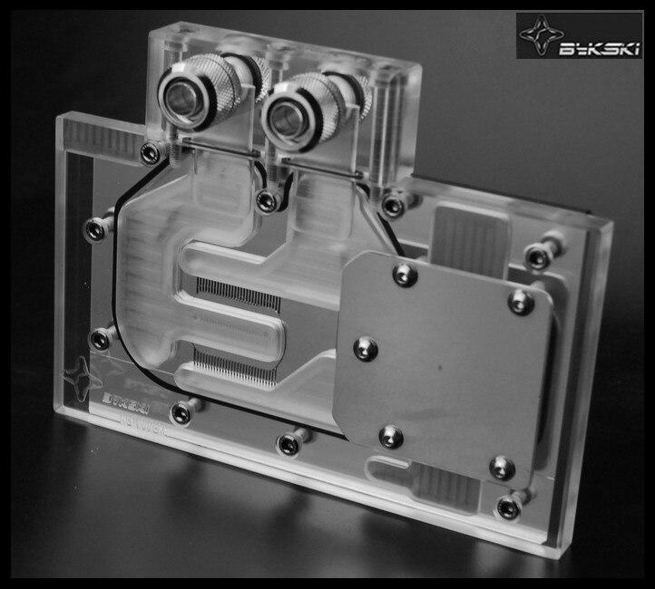 Fans & Cooling Bykski N-gv77-x Gi Gabyte Gv-n770oc Gv-n760oc Full Coverage Pmma Graphics Card Water Cooling Block.