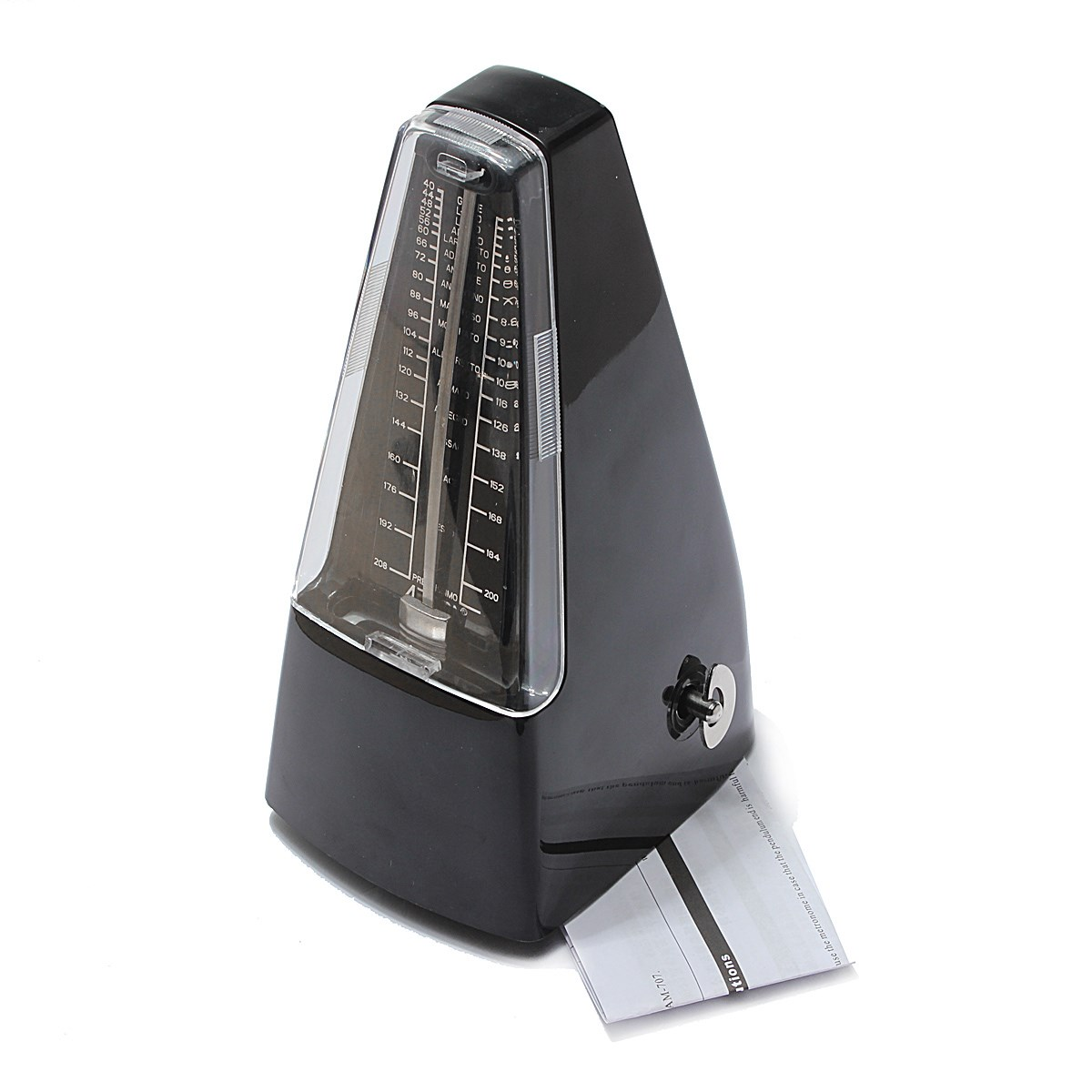 Professional Pyramid Mechanical Bell Ring Metronome Musical Beat ...