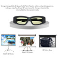 Gonbes G05-DLP Professional DLP Link 3D Glasses Active Shutter Glasses For DLP-Link Projector for DELL for SHARP for Acer