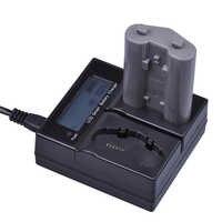 1Pc 3200mAh EN-EL18 EN-EL18a EN EL18 ENEL18a batterie + écran LCD double chargeur rapide intelligent pour Nikon D4, D4S, D5 appareil photo reflex numérique