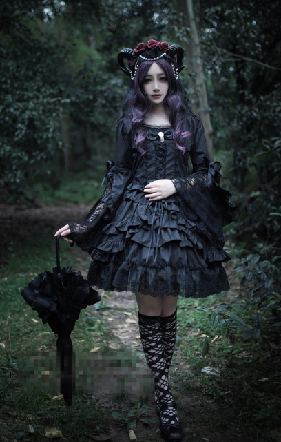 Lilith Designer Clothing | New Clothing Lolita Dresses Lilith Gothic Uniform Cosplay Costume