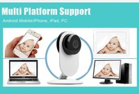 2015 New Product Mini Wireless Camera Ip HD 720P Wide Angle 3 6mm Home Security Wifi