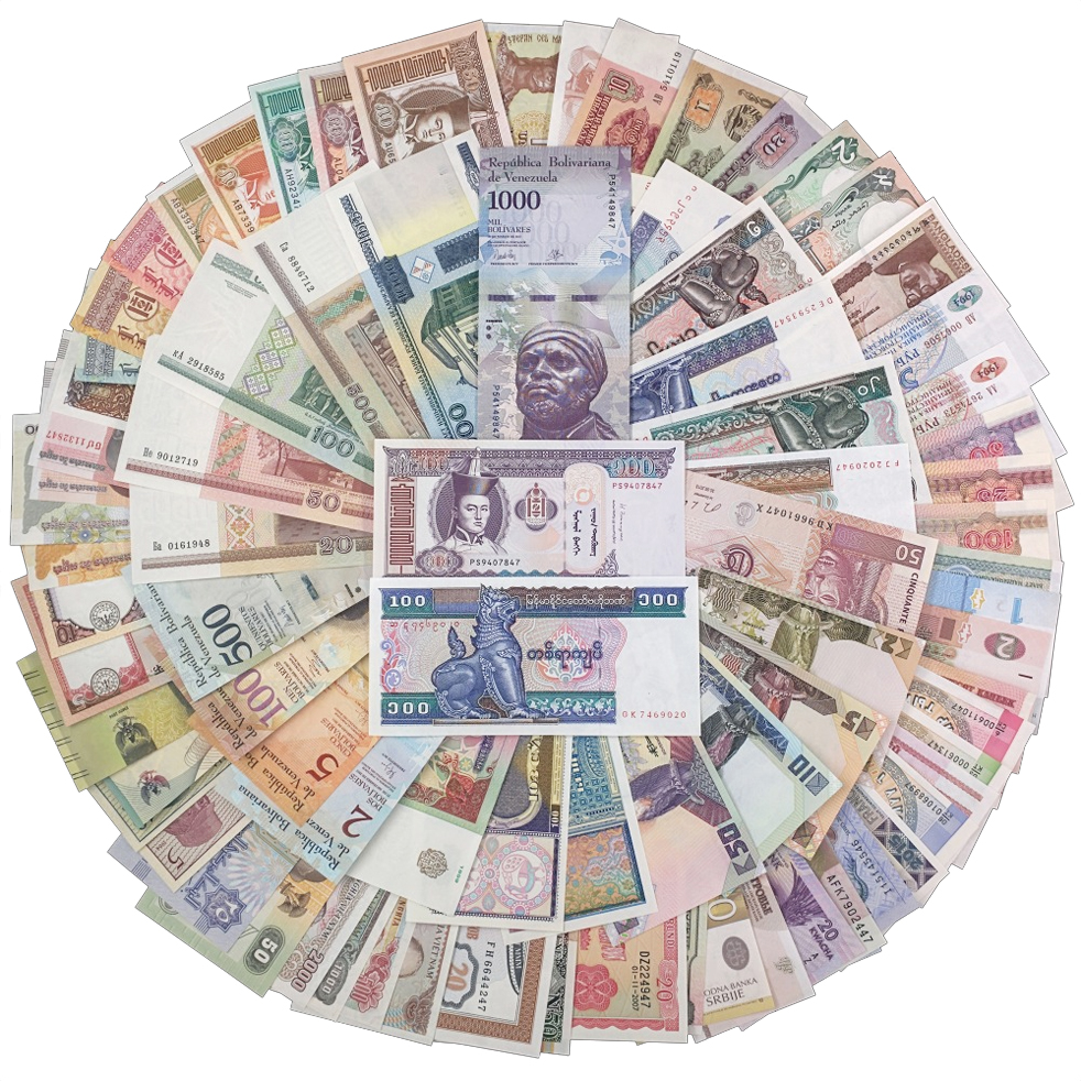 Wholesale 2000 Pcs Paper Money Sleeves Holders Currency Banknotes Brand New