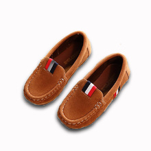 Casual Cowhide Kids Shoes