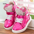 Koovan Children Sneakers 2017 Kids Sneakers Children Shoes Kids Sneakers Girls Shoes Boys Kitty Cats Cartoon Rhinestone