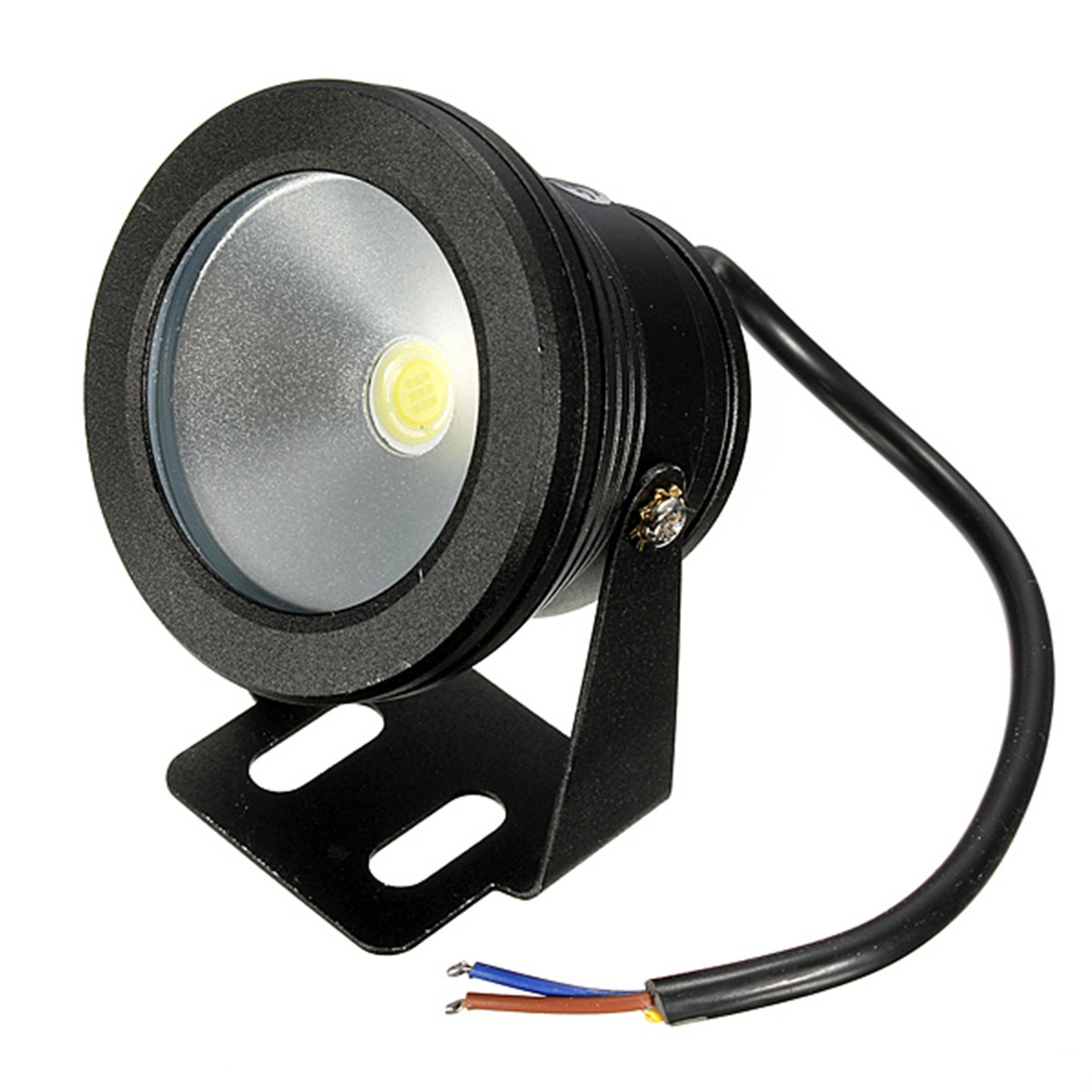Mising 10W Underwater LED Flood Wash Pool Waterproof Light Spot Lamp 12V Outdoor Super Bright Aquarium Fish Tank Light